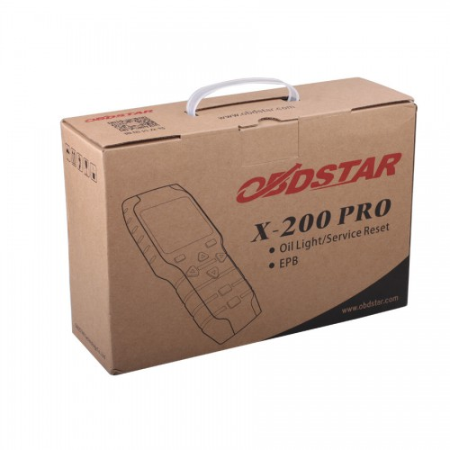[US Ship No Tax] Original OBDSTAR X-200 X200 Pro A+B Configuration for Oil Reset + OBD Software + EPB
