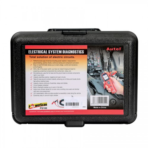 [US/UK Ship No Tax] Autel PowerScan PS100 Electrical System Diagnosis Tool Free Shipping