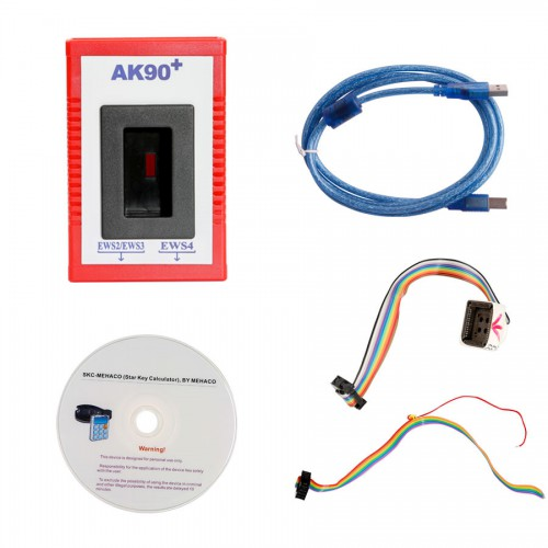 [US Ship No Tax] BMW AK90+ AK90 Key Programmer for All BMW EWS Newest Version V3.19