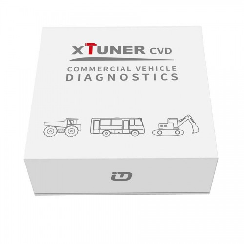 V4.0 XTUNER Bluetooth CVD-9 on Android Commercial Vehicle Diagnostic Adapter XTuner CVD Heavy Duty Scanner