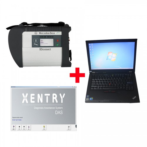 2018.12V MB SD C4 SD Connect Compact 4 Plus Lenovo T410 Laptop 4GB Memory Software Installed Ready to Use