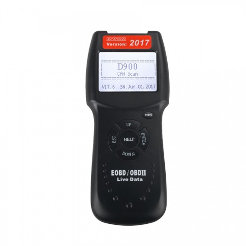 V17.6 Version D900 CANBUS OBD2 Live Data Code Reader