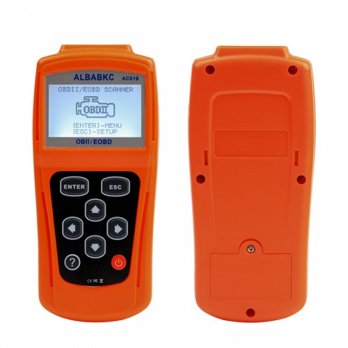 ALBABKC AC619 Auto Fault Detection Clear the Instrument Diagnostic Scan Tool
