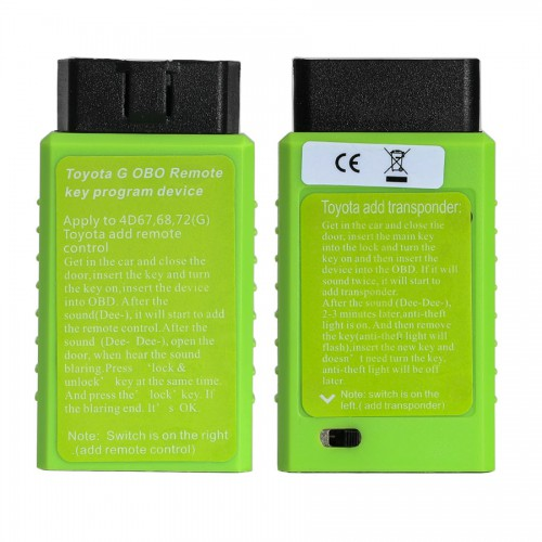 [Ship from US] Toyota G and Toyota H Chip Vehicle OBD Remote Key Programming Device