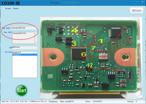 V3.9.9.6 CG100 PROG III Airbag Restore Devices including All Function of Renesas SRS