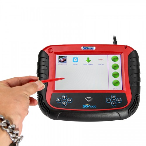 SKP1000 V8.19 Tablet Auto Key Programmer With Special Functions for All Locksmiths Perfectly Replace CI600 Plus and SKP900