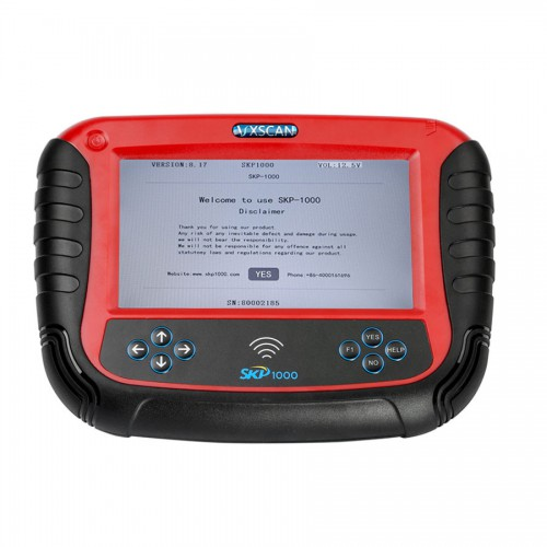 New SKP1000 Tablet Auto Key Programmer + Special functions CI600 Plus English Version and SuperOBD SKP900 Replacement