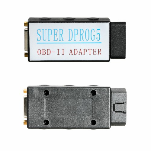 Super Dprog5 IMMO Odometer Airbag Reset Tool 3 in 1 for BMW Benz and VAG vehicles
