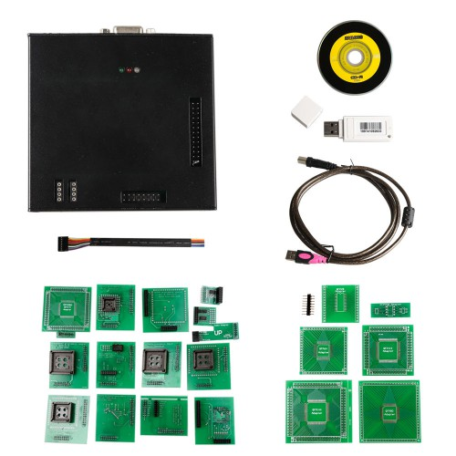 Latest Version X-PROG Box ECU Programmer XPROG-M V5.84 with USB Dongle Free Shipping by DHL