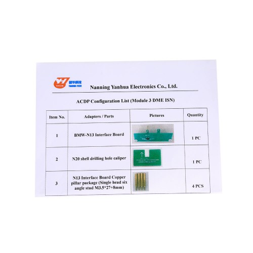 [Weekly Special] Yanhua Mini ACDP Module3 Read & Write BMW DME ISN Code by OBD