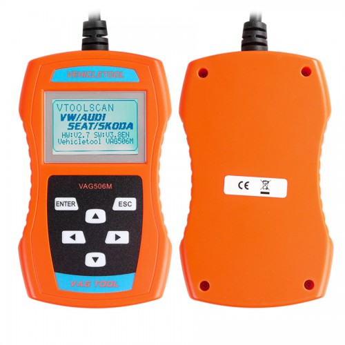 VAG506M  Code Reader Support TP-CAN and New UDS Protocol