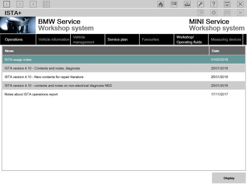 2018.5 BMW ICOM Software ISTA-D 4.10.20 ISTA-P 3.64.0.600 Engineering Mode Win7 HDD