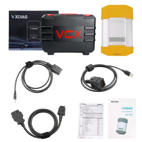 VXDIAG VCX DoIP Jaguar Land Rover Diagnostic Tool with V166 JLR SDD Software Contained in HDD Free Shipping by DHL