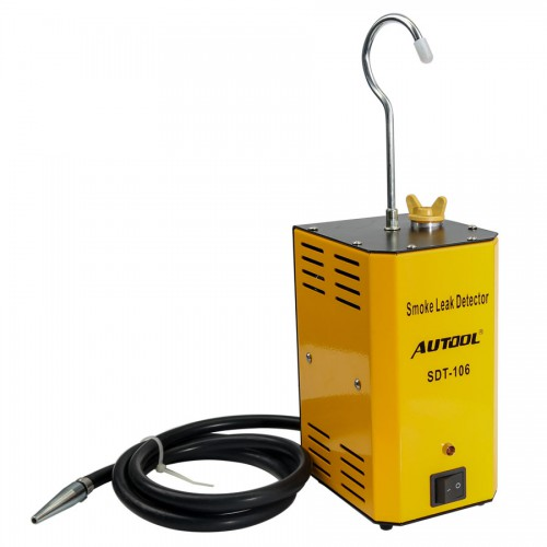 AUTOOL SDT-106 Diagnostic Leak Detector of Pipe Systems for Motorcycle/Cars/SUVs/Truck Smoke Leakage Tester
