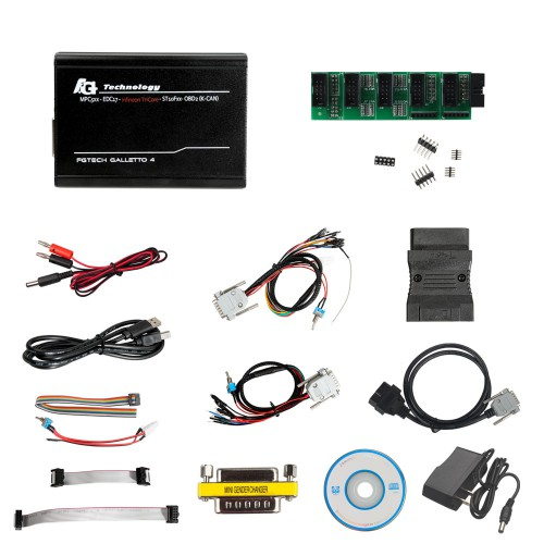 Latest Version V54  FGTech Galletto 4 Master BDM-Tricore-OBD Function ECU Programmer With Multi Language
