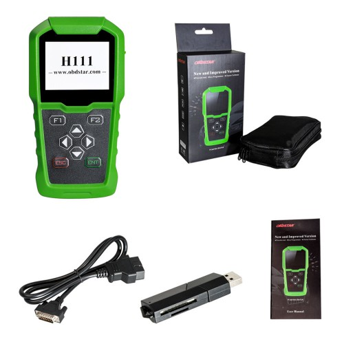 OBDSTAR H111 Opel Key Programmer & Cluster Calibration via OBD Free Shipping by DHL