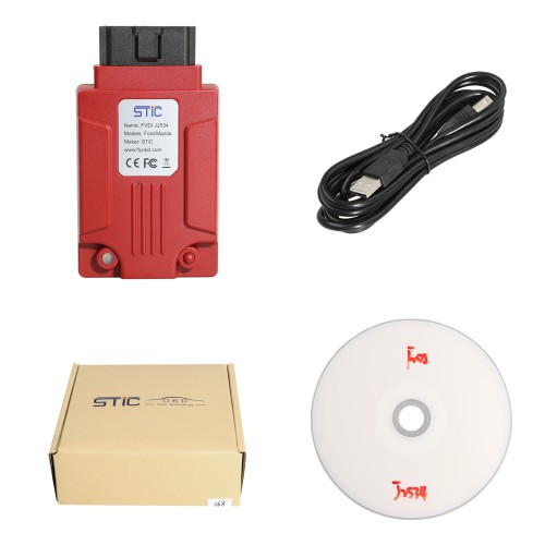 [7% off $134.85] Newest FVDI J2534 Diagnostic Tool for Ford & Mazda Support Online Module Programming