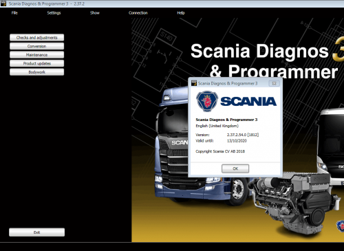 Scania SDP3 2.37 Diagnosis & Programming for VCI 3 VCI3 without Dongle