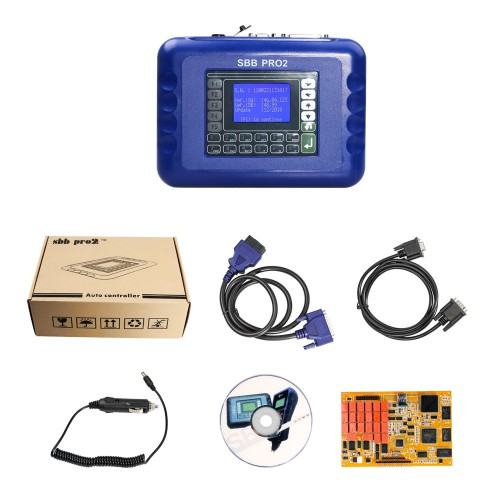 Best Price V48.99 SBB Pro2 Key Programmer Support New Cars to 2017.12 Replace SBB 46.02