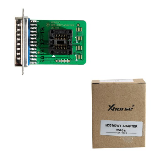 Original V4.7.9 Xhorse VVDI PROG Programmer with M35160WT Adapter Free Shipping by DHL