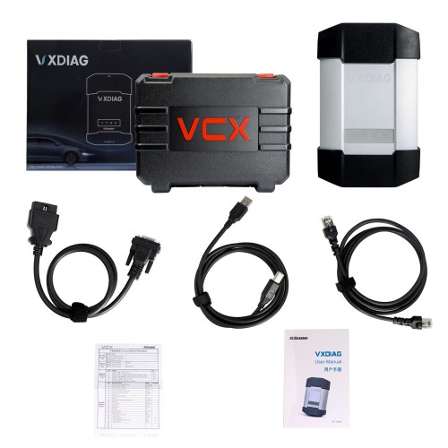 New VXDIAG Multi Diagnostic Tool For BMW & BENZ 2 in 1 Scanner Without HDD