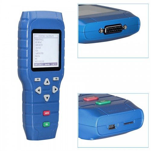 [Big Sale] OBDSTAR X-100 PRO Auto Key Programmer (C+D) Type for IMMO+Odometer+OBD Software Get Free PIC and EEPROM 2-in-1 Adapter