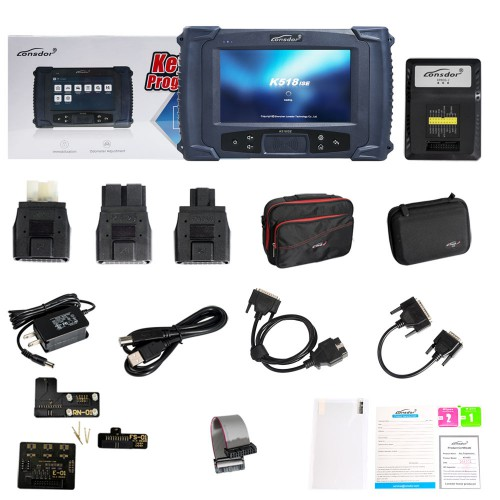 [11.11 Sale] Lonsdor K518ISE Programmer Plus SKE-IT Smart Key Emulator 5 in 1 Set Full Package