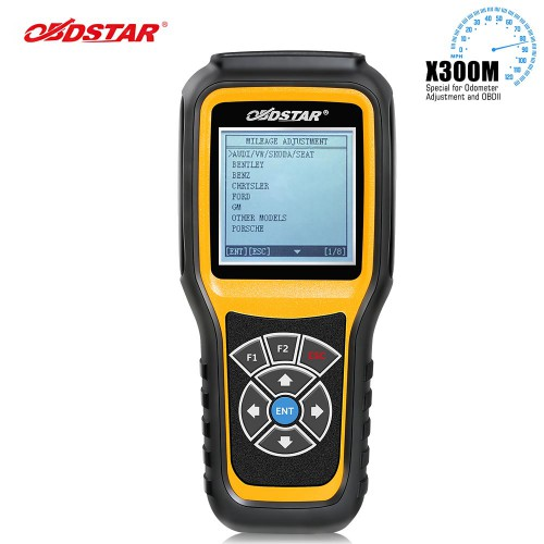 [US/UK Ship] OBDSTAR X300M Special for Odometer Adjustment and OBDII Support Mercedes Benz & MQB VAG KM Function