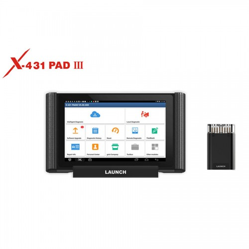 Original LAUNCH X431 PAD III PAD 3 V2.0 Full System Diagnostic Tool Support Coding and Programming Free Update Online for 3 Years