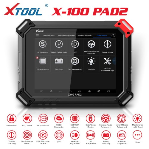 [US/UK Ship] XTOOL X-100 PAD 2 Special Functions Expert Update Version of X100 PAD