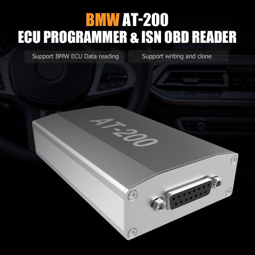 [UK Ship] BMW AT-200 AT200 V1.6.1 ECU Programmer & ISN OBD Reader Support MSV90 MSD85 MSD87 B48 etc