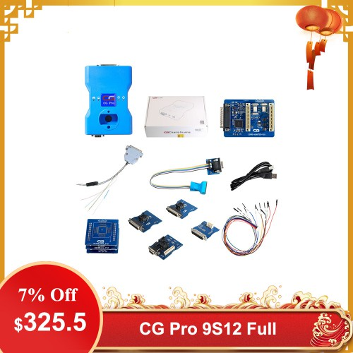 [US/UK Ship] CG Pro 9S12 Programmer Full Version Including All Adapters