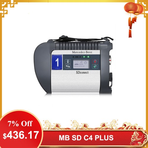[UK Ship No Tax] MB SD C4 PLUS Star Diagnosis Support DOIP for Cars and Trucks Without Software