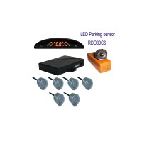 Rainbow LED Display Parking Sensor Hot