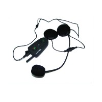100M Motorcycle Helmet Headsets Intercom Bluetooth Handsfree Kit