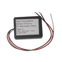 Seat Occupancy Occupation Sensor SRS Emulator for Mercedes-Benz Type 2
