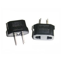 Euro EU to US USA Travel Charger Adapter Plug Converter