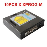 10pcs Newest Version XPROG-M V5.3 Plus With Dongle