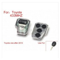 Remote Control 433Mhz for Toyota Vios 2 Button After 2013