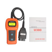 U380 OBDII Engine Light & Trouble Code Reader