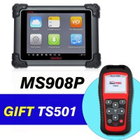 Original Autel MaxiSys Pro MS908P Diagnostic System With WiFi Get Free MaxiTPMS TS501 Free Shipping By DHL