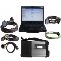 V2019.7 MB SD C5 Star Diagnosis Plus Panasonic CF52 Laptop Software Installed Ready to Use