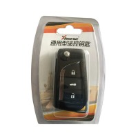 XHORSE Toyota Style Wireless Universal Remote Key 3 Buttons XN008 for VVDI Key Tool 5pcs/lot