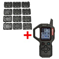 Original V2.2.2 Xhorse VVDI Key Tool Remote Key Programmer American Version With Full Set 12pcs EEPROM Adapter Free Shipping