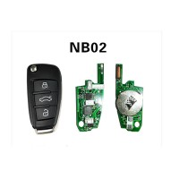 KD-NB02 Remote Key For KD900/KD900+/URG200 Remote Key Programmer For Peugeot/Citroen/Buick/Honda/Renault/Opel 5pcs/lot