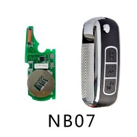 KD-NB07 Remote Key For KD900/KD900+/URG200 Remote Key Programmer For Peugeot/Citroen/Buick/Honda/Renault/Opel 5pcs/lot