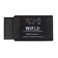 ELM327 WIFI OBD2 EOBD Scan Tool Support Android and iPhone/iPad Software V2.1