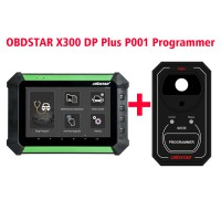 OBDSTAR X300 DP X-300DP PAD Key Master Tablet Key Programmer Full Configuration Plus P001 Programmer RFID & Renew Key & EEPROM Functions 3 in 1