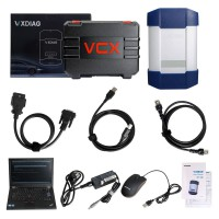 [11.11 Sale] VXDIAG Multi Diagnostic Tool for Full Brands HONDA/GM/VW/FORD/MAZDA/TOYOTA/PIWIS/Subaru/VOLVO/ BMW/BENZ with 2TB HDD &  Lenovo T420