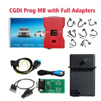 [UK Ship No Tax] CGDI Prog MB Benz Key Programmer Support All Key Lost with Full Adapters for ELV Repair
